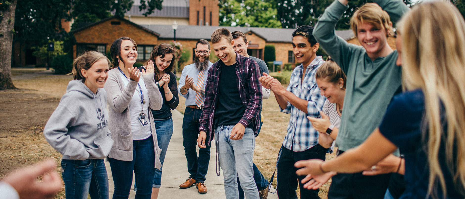 George Fox Christian ministries majors study at a top Christian college.