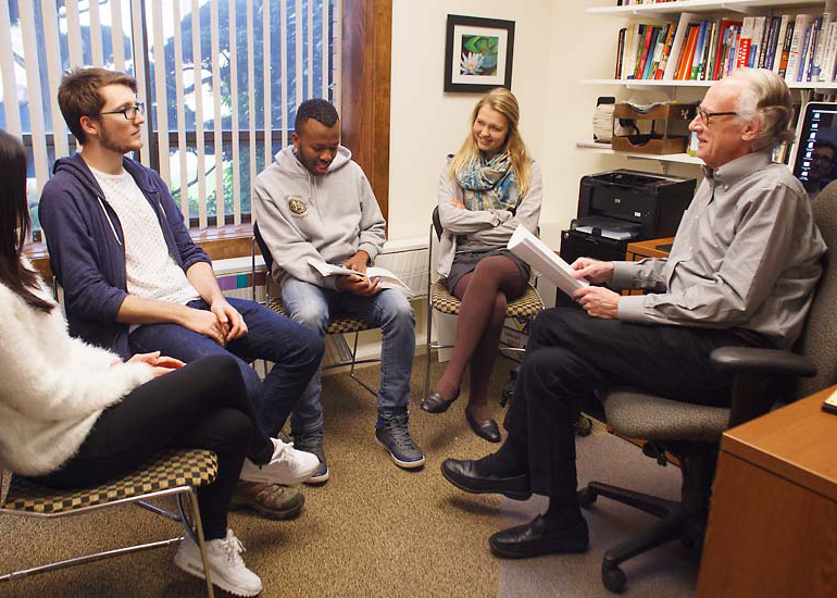 The accounting major at George Fox integrates the academic discipline with Christian values.