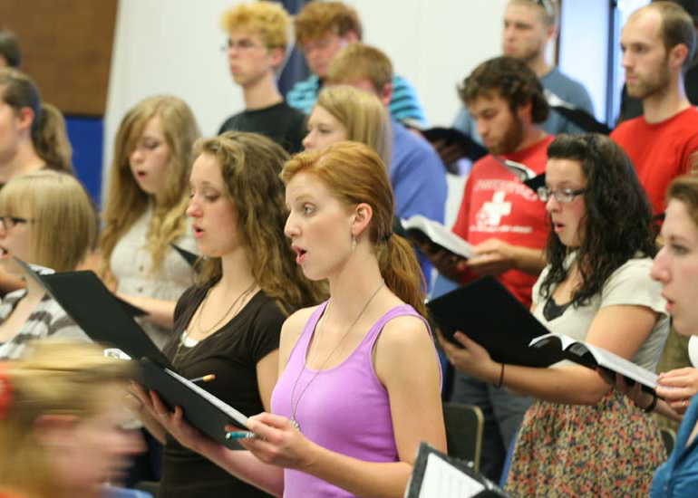 Music education majors at George Fox study at one of the West Coast's top Christian colleges
